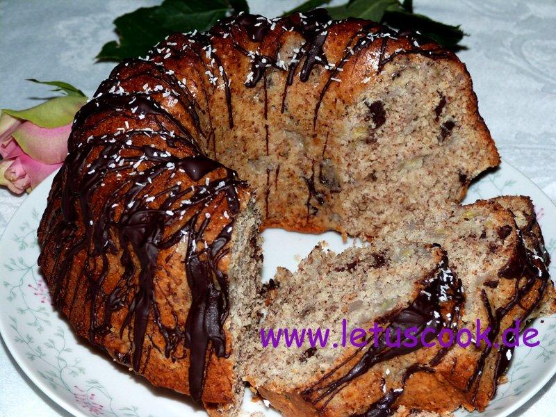 Bananen-Schokoladen Kuchen