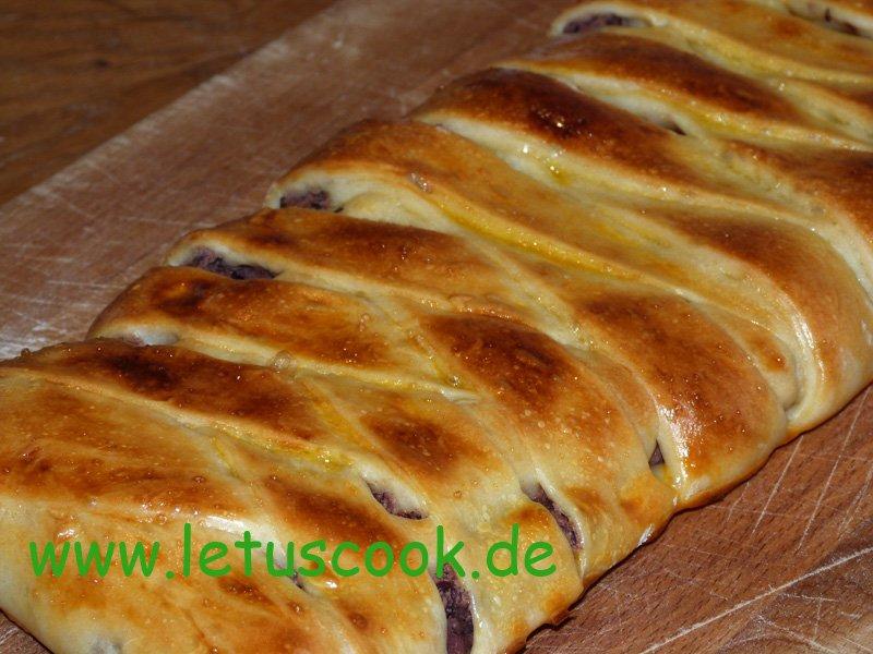 Bohnen-Strudel