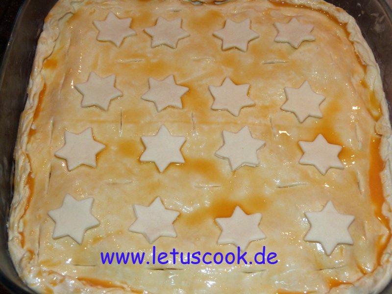 Champignon-Käse Kuchen