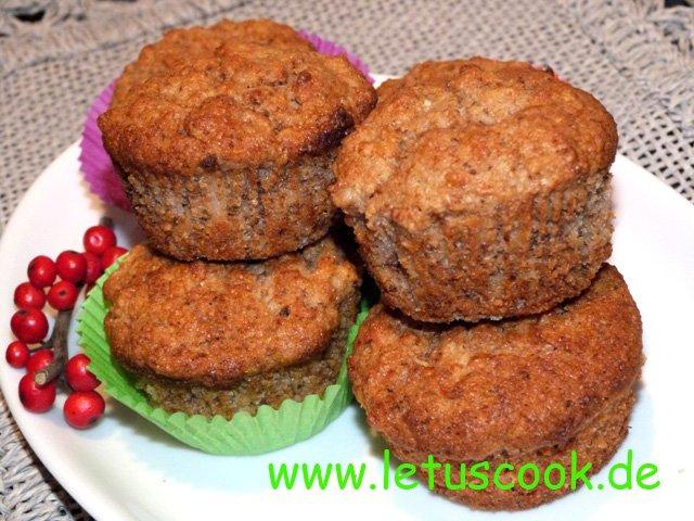 Dinkel-Quitten Muffins