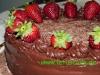 Erdbeer  Schoko-Torte