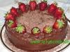 Schoko-Erdbeer  Torte