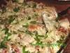 Fleisch-Gemüse Nudel-Auflauf