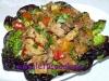 Paprika-Fleisch Pfanne