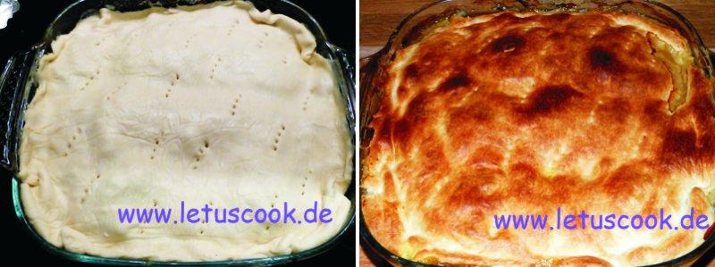 Süßkartoffel-Fleisch-Pie