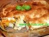 Geglügel-Süßkartoffel pie