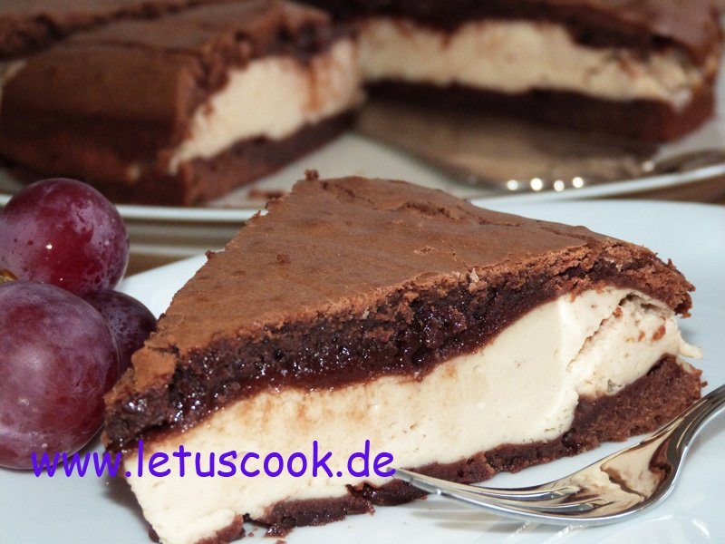 Brownies mit Frischkaese.