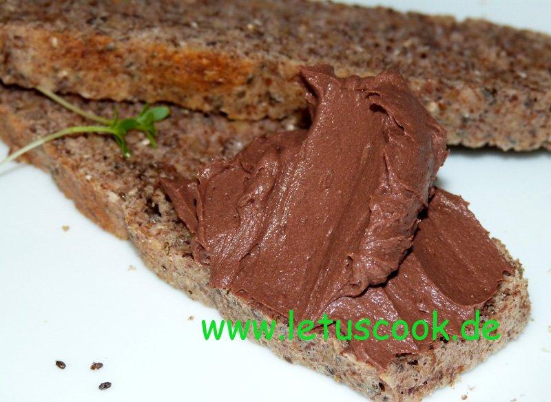 Frischkäse-Kakao- Brotaufstrich