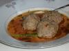 Gufta-Hackfleischbällchen Suppe