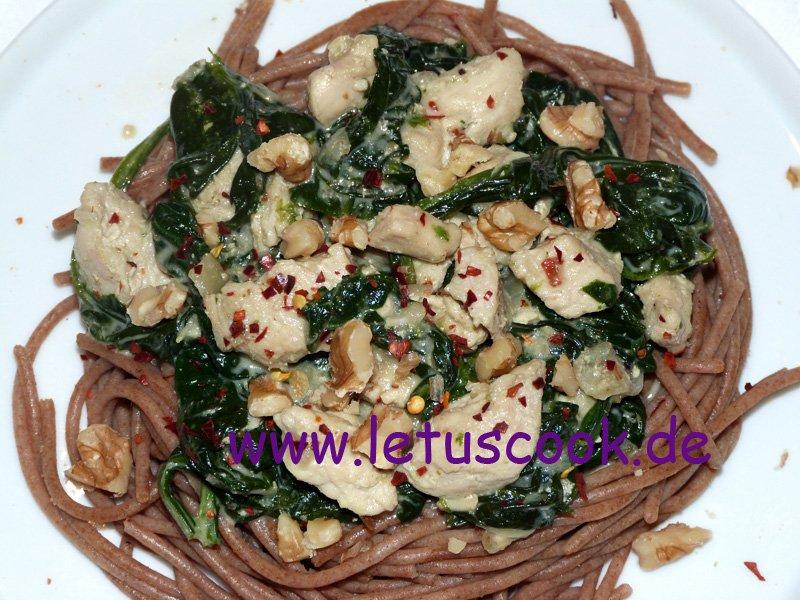 Spinat-Hähnchenbrustfilet