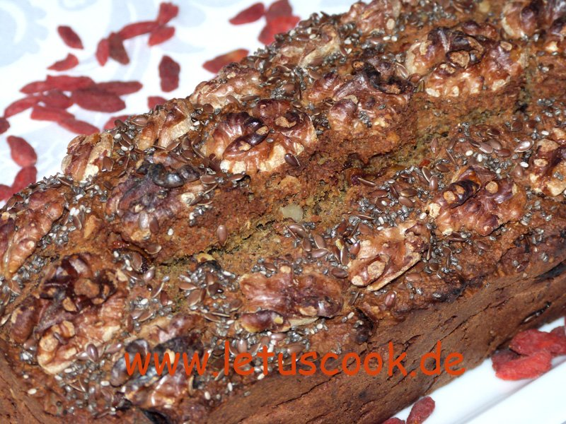 Hafer-Goji Walnuss Brot