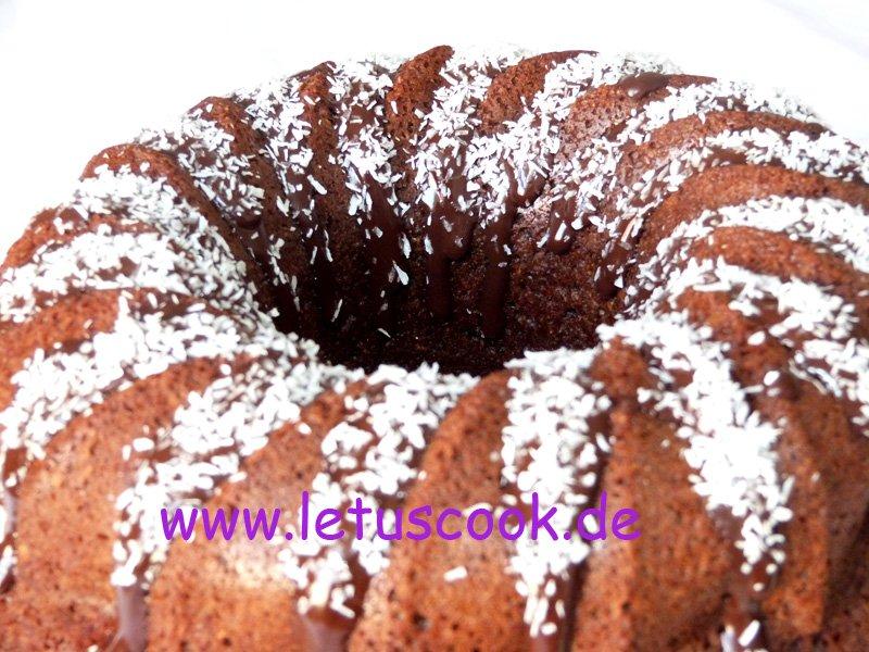 Hafer-Kokos Kaffee Kuchen