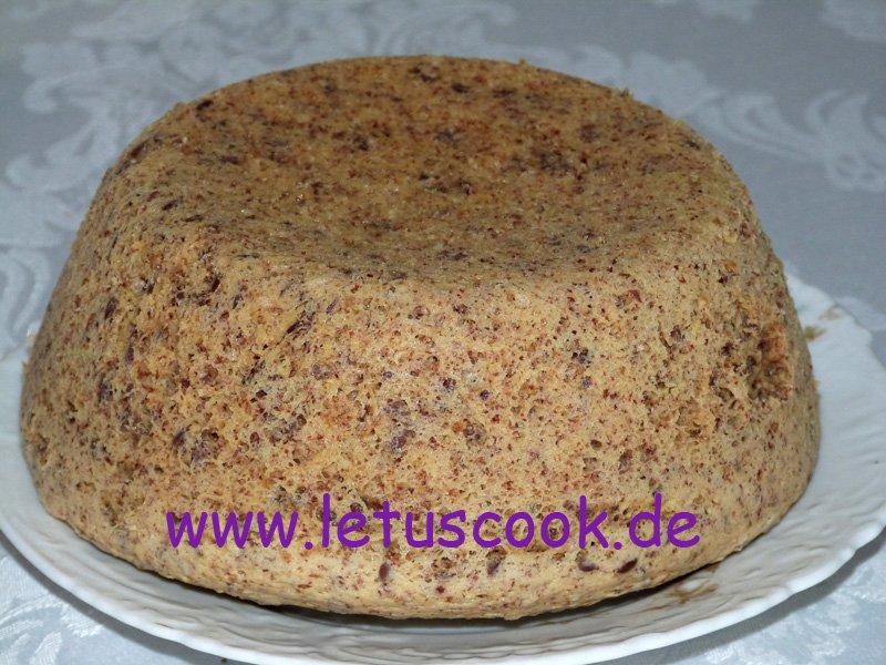 Leinsamen-Haferkleie-Brot