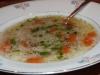 Hähnchensuppe mit Reis