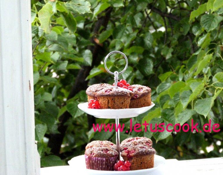 Johannisbeer- Muffins