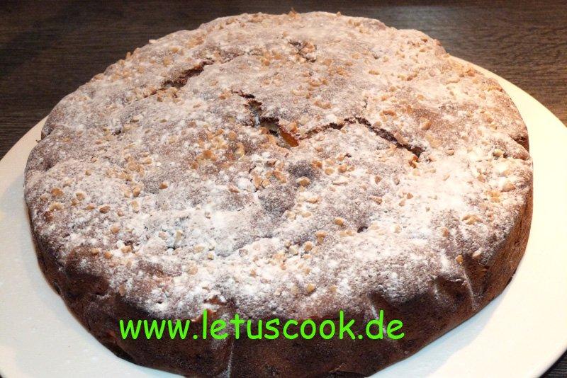 Kaki Mandel Kuchen