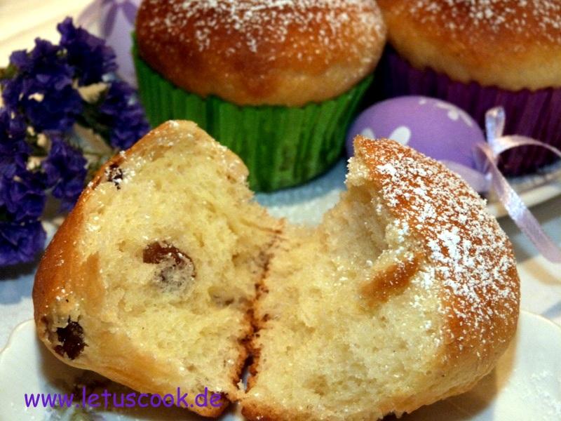 Ostern Muffin-Paska