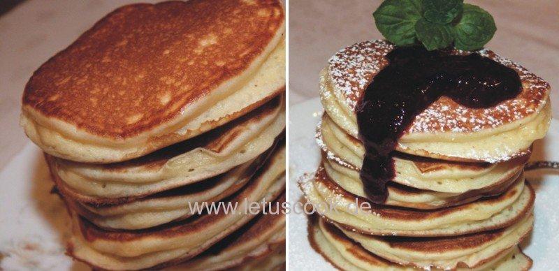 Pfannkuchen - Amerikan Pancakes