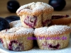Pflaumen-Dinkel Muffins
