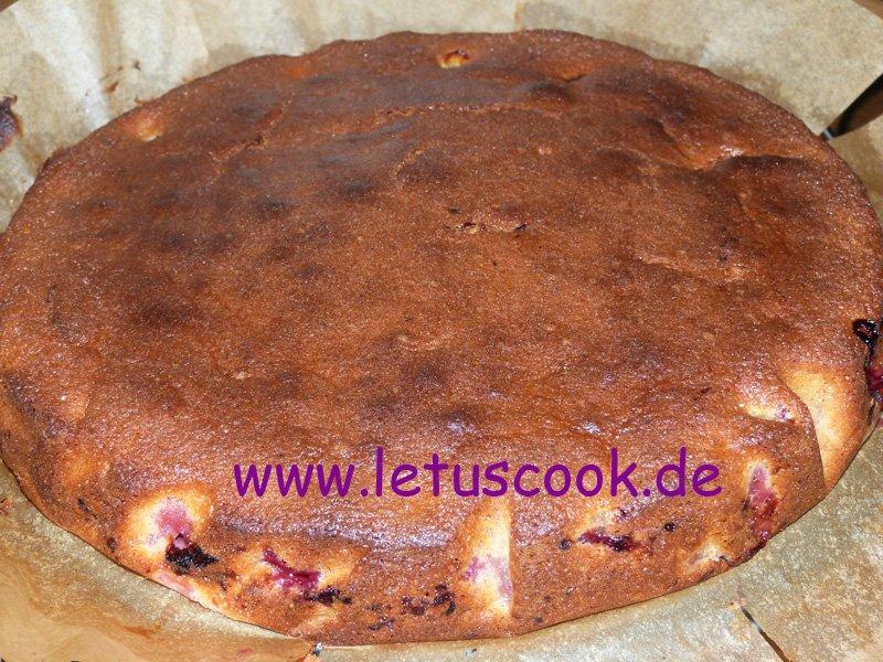 Pflaumen-Kokos- Kuchen