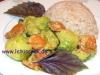 Rosenkohl-Zucchini-Pfanne
