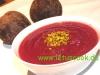 Rote Bete-Steckrüben Cremesuppe