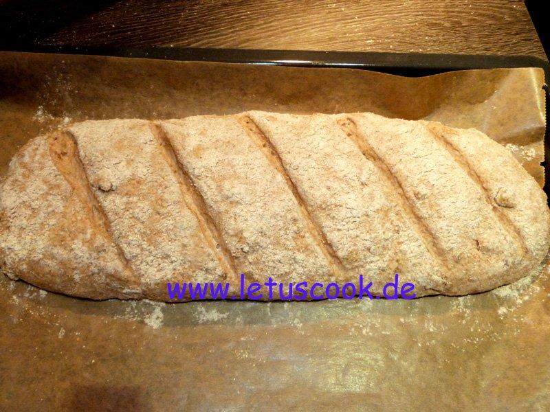 Schnelles Walnuss-Brot