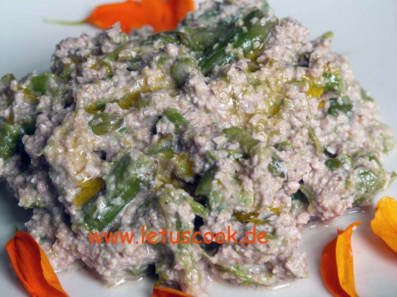 Spargel-Walnuss Salat