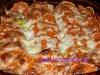 Süßkartoffel-Fleisch Auflauf