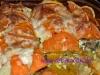 Süßkartoffel-Fleisch Gratin