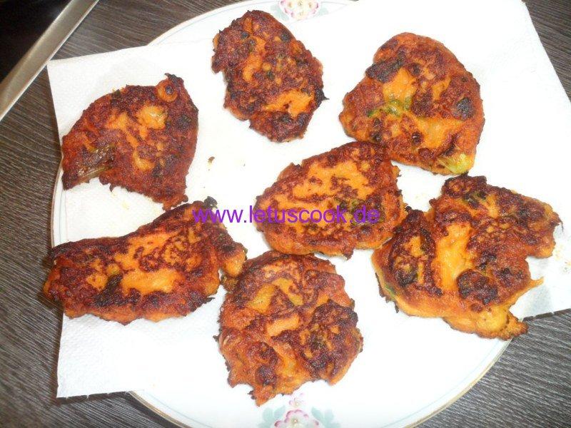 Süßkartoffeln-Kichererbsen Bratlinge-Schritt 2