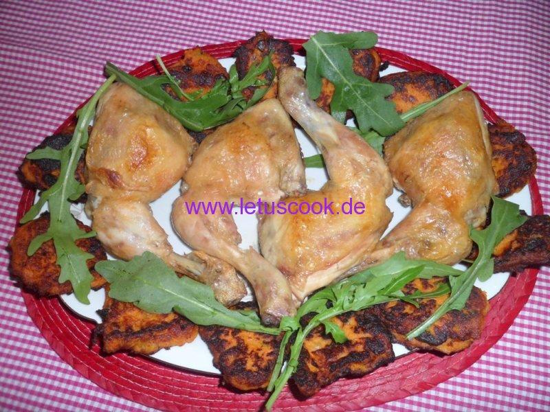 Süßkartoffeln-Kichererbsen Bratlinge-1