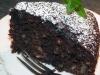 Weihnachtliche Walnuss-Schoko Torte