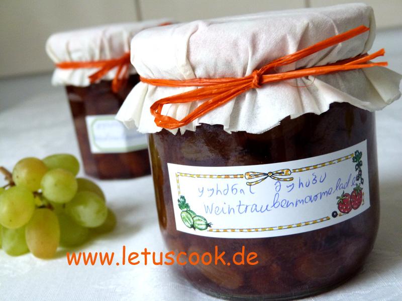 Weintraubenmarmelade
