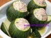 Mit Fleisch Gefüllte Zucchini