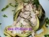 Zucchini mit Putenfleisch