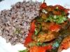 Zucchini-Paprika Pfanne mit Buchweizen
