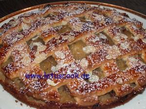 Gitter-Apfelkuchen