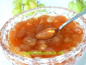 Weintrauben Marmelade