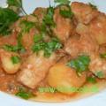 Schweinefleisch-Kartoffel-Eintopf