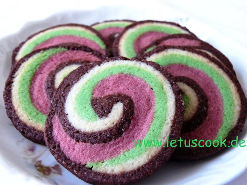 Bunte kekse backen rezept