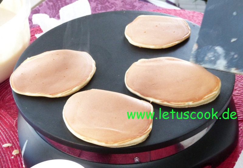 Pancakeparty bei let us cook