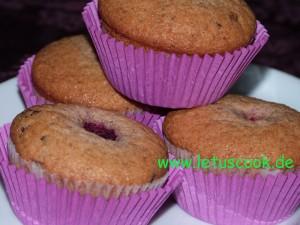 Schokoladen-Himbeer Muffins