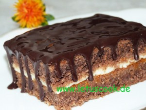 Kaffee-Pudding Kuchen