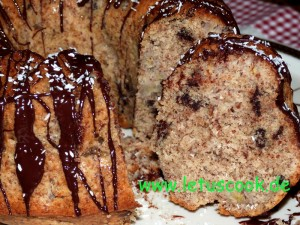 Bananen-Chocolate-Chip Kuchen