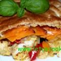 Süßkartoffel-Fleisch Pie