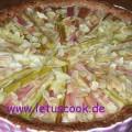 Rhabarber Pudding Tarte