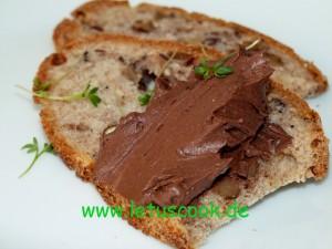 Frischkäse-Kakao Brotaufstrich
