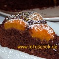 Schokoladen-Aprikosen Kuchen