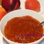 Aprikosen-Pfirsich konfitüre